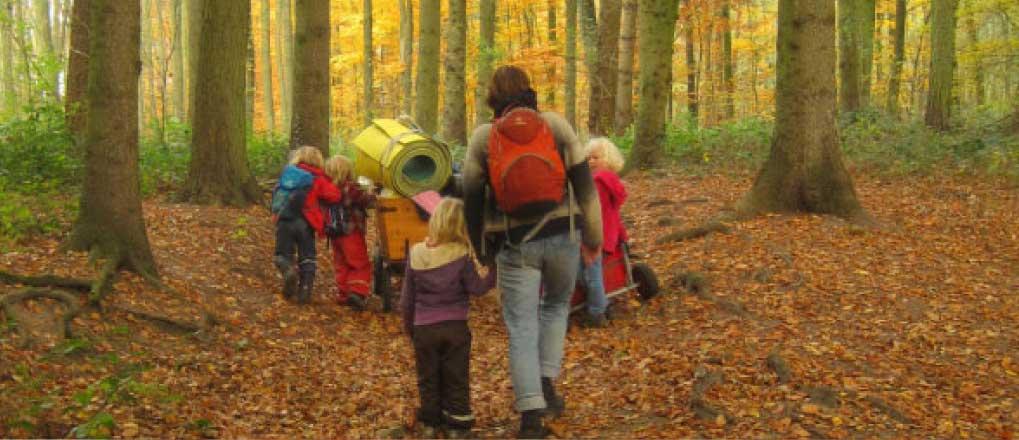 Waldkindergarten - Katanie